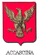 Accascina Coat of Arms / Family Crest 0
