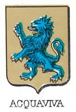 Acquaviva Coat of Arms / Family Crest 2