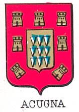 Acugna Coat of Arms / Family Crest 0