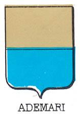 Ademari Coat of Arms / Family Crest 0