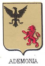 Ademonia Coat of Arms / Family Crest 0