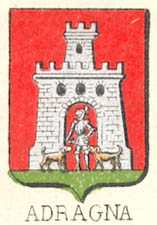 Adragna Coat of Arms / Family Crest 1