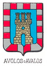 Avalos Coat of Arms / Family Crest 1