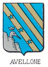 Avellone Coat of Arms / Family Crest 2