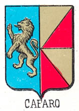 Cafaro Coat of Arms / Family Crest 2