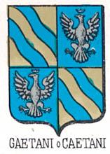 Gaetani Coat of Arms / Family Crest 6