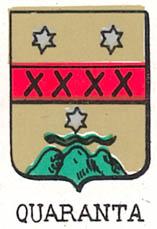 Quaranta Coat of Arms / Family Crest 2