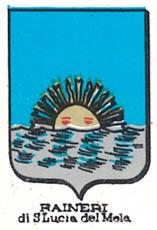 Raineri Coat of Arms / Family Crest 1