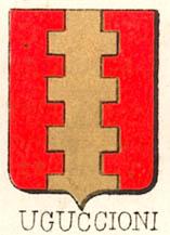 Uguccioni Coat of Arms / Family Crest 1