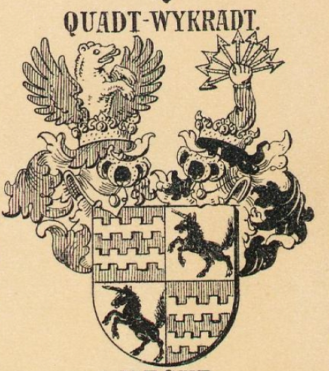 Quadt-Wykradt Coat of Arms / Family Crest 0