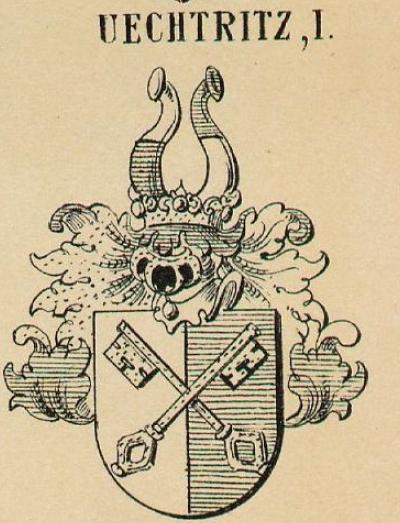 Uechtritz Coat of Arms / Family Crest 0