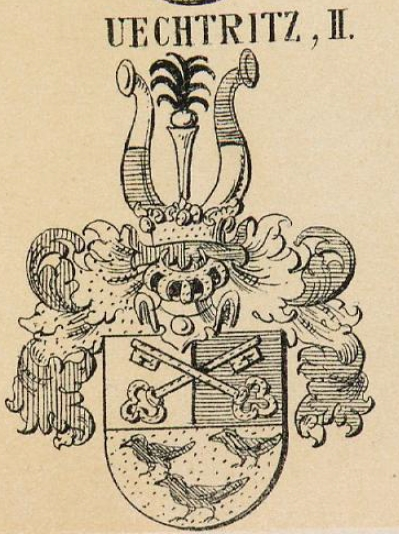 Uechtritz Coat of Arms / Family Crest 1