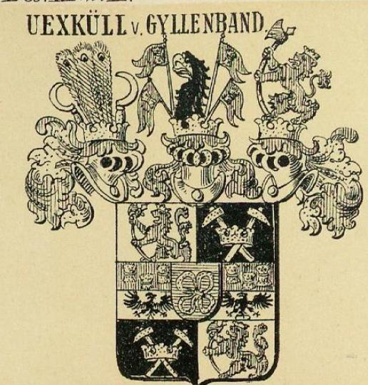 Uexkull Coat of Arms / Family Crest 0