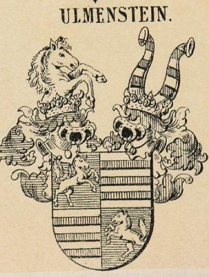 Ulmenstein Coat of Arms / Family Crest 0