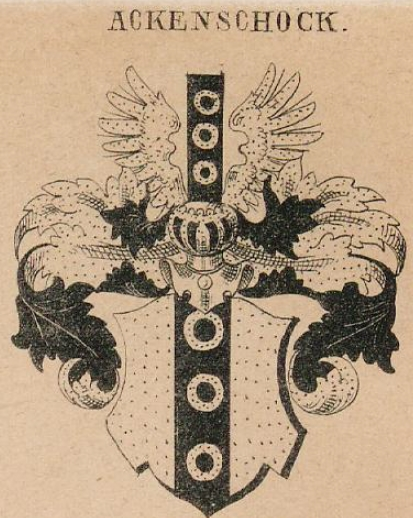 Ackenschock Coat of Arms / Family Crest 0
