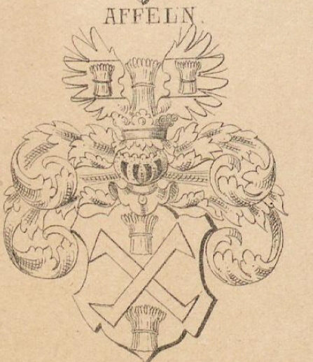 Affeln Coat of Arms / Family Crest 0