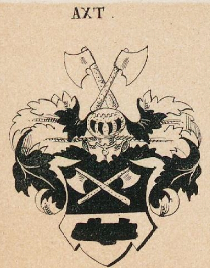 Axt Coat of Arms / Family Crest 1