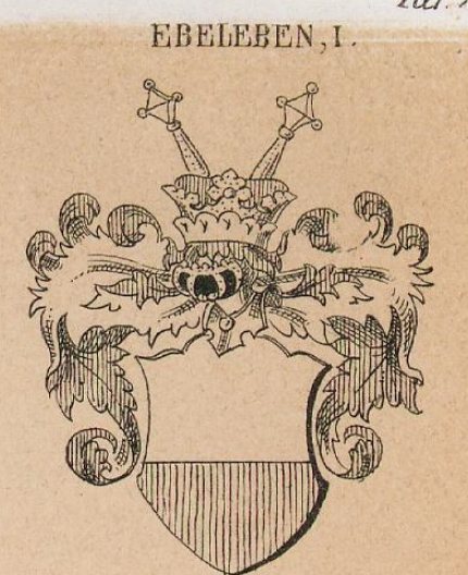 Ebeleben Coat of Arms / Family Crest 0