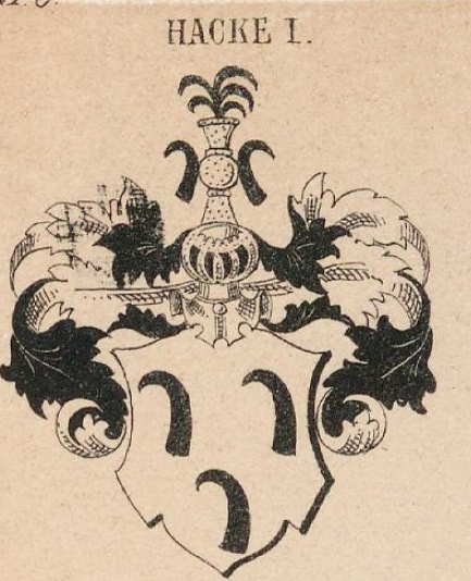 Hacke Coat of Arms / Family Crest 7
