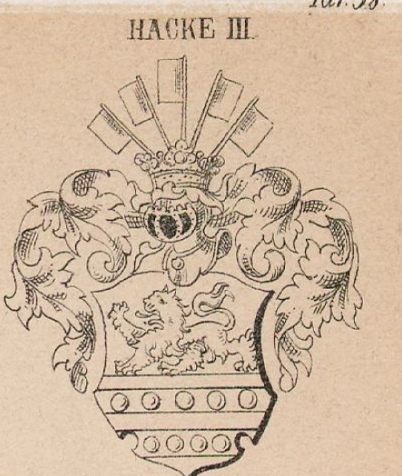 Hacke Coat of Arms / Family Crest 9