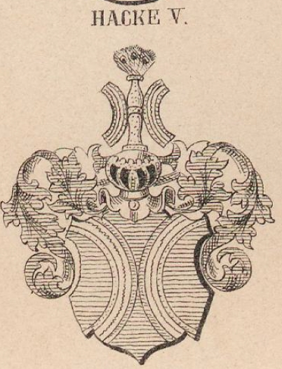 Hacke Coat of Arms / Family Crest 11