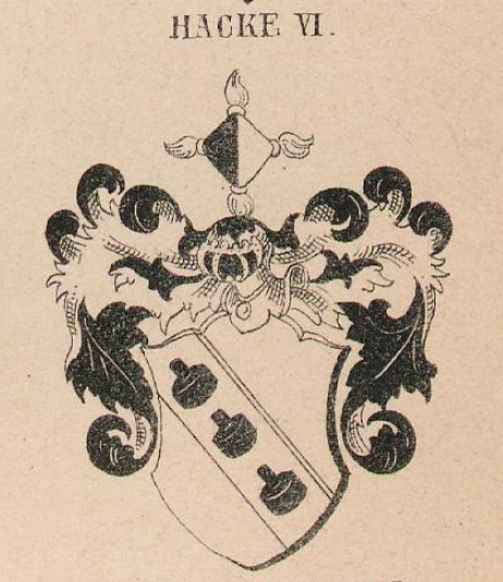 Hacke Coat of Arms / Family Crest 12