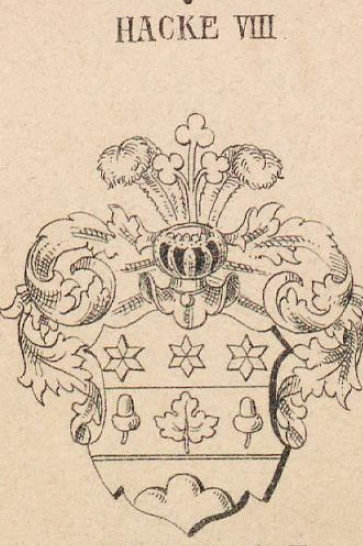 Hacke Coat of Arms / Family Crest 14