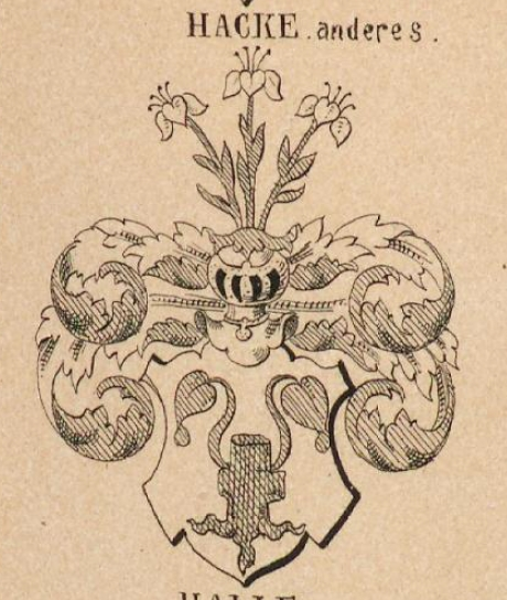 Hacke Coat of Arms / Family Crest 6