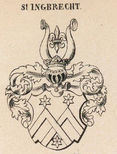 Ingbrecht Coat of Arms / Family Crest 0
