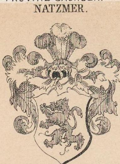 Natzmer Coat of Arms / Family Crest 1