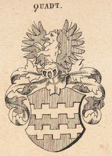 Quadt Coat of Arms / Family Crest 0