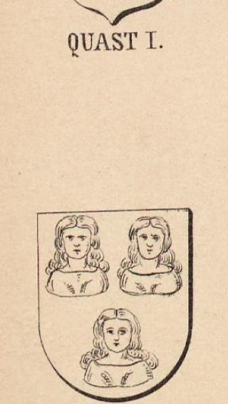 Quast Coat of Arms / Family Crest 2