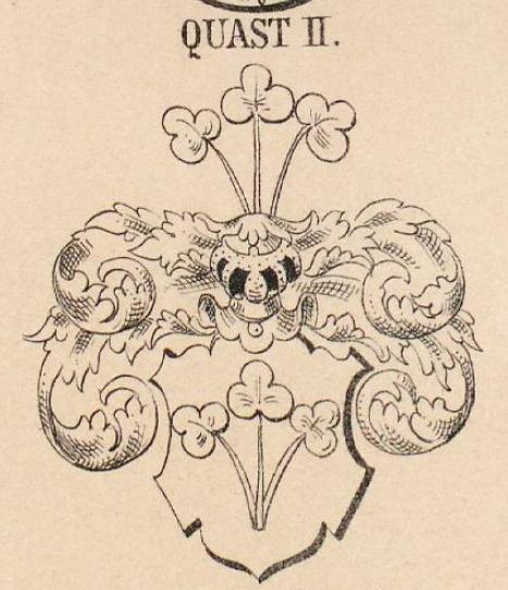 Quast Coat of Arms / Family Crest 3