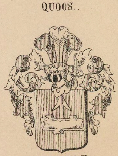Quoos Coat of Arms / Family Crest 0