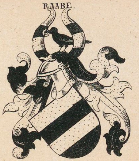 Raabe Coat of Arms / Family Crest 0