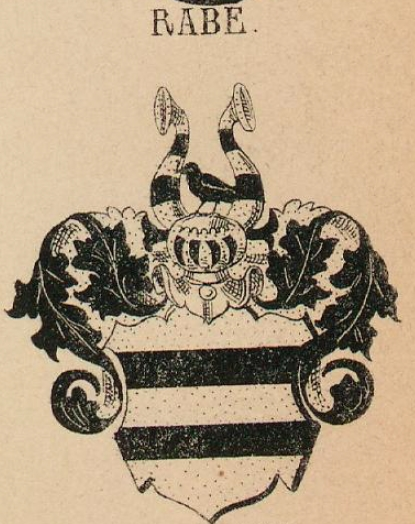 Rabe Coat of Arms / Family Crest 4
