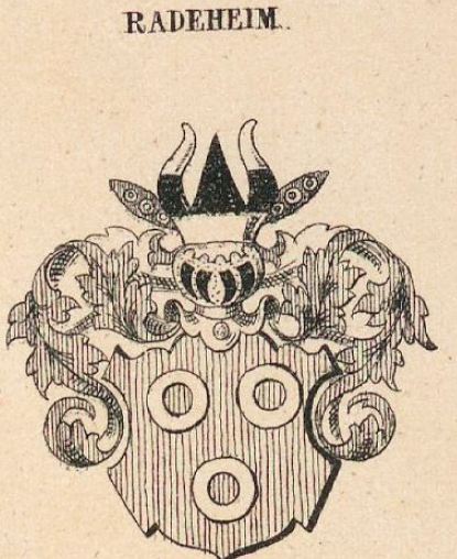 Radeheim Coat of Arms / Family Crest 0