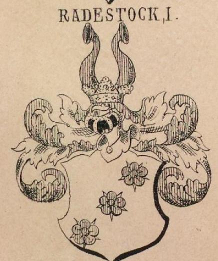 Radestock Coat of Arms / Family Crest 1