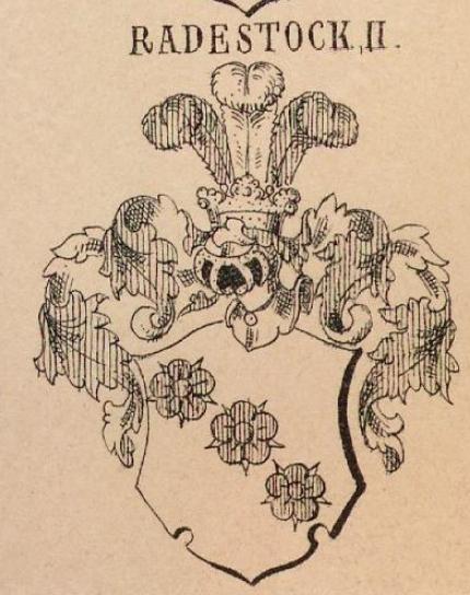 Radestock Coat of Arms / Family Crest 2