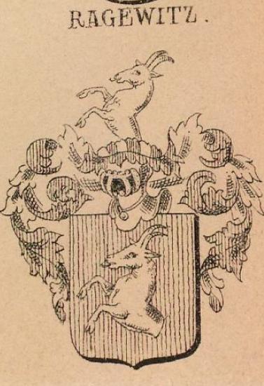 Ragewitz Coat of Arms / Family Crest 0