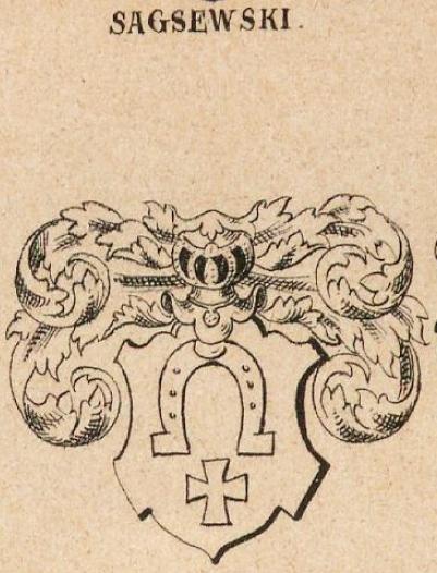 Sagsewski Coat of Arms / Family Crest 0