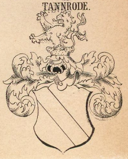Tannrode Coat of Arms / Family Crest 0