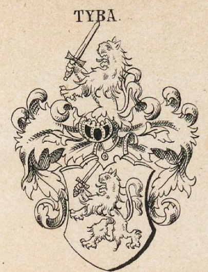 Tyba Coat of Arms / Family Crest 0