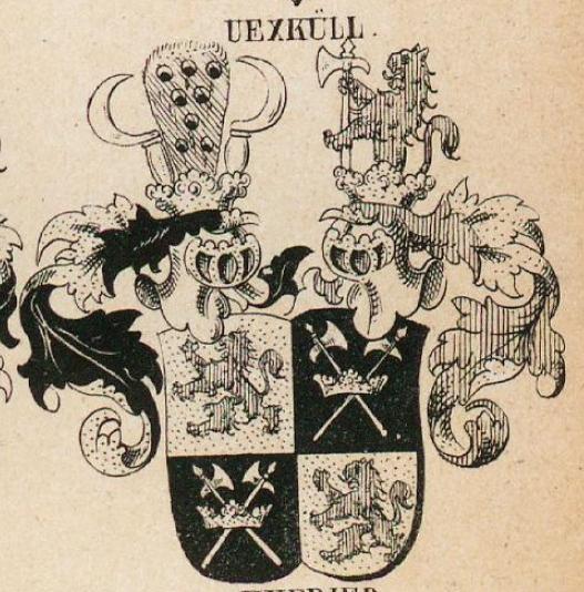 Uexkull Coat of Arms / Family Crest 1