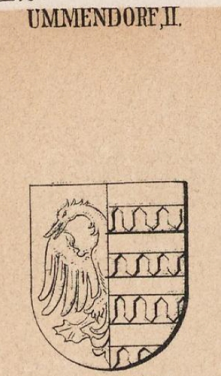 Ummendorf Coat of Arms / Family Crest 1