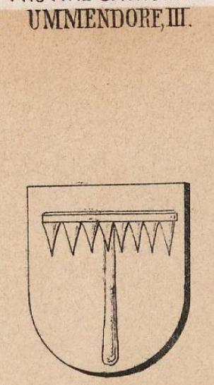 Ummendorf Coat of Arms / Family Crest 2