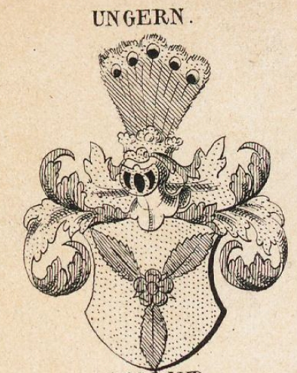 Ungern Coat of Arms / Family Crest 0