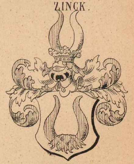 Zinck Coat of Arms / Family Crest 1