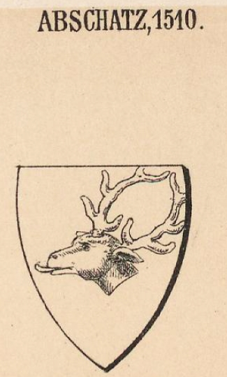 Abschatz Coat of Arms / Family Crest 1