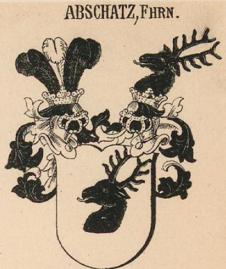Abschatz Coat of Arms / Family Crest 2